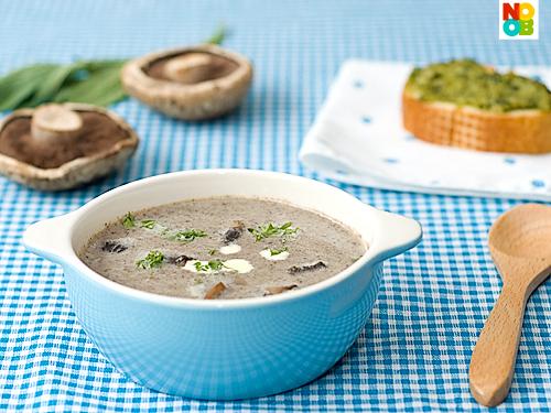 Cream of Portobello Mushroom Soup