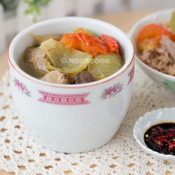 Chinese Salted Veg Duck Soup Recipe