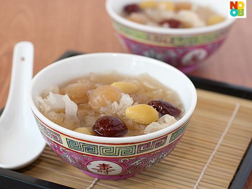 Snow Fungus Dessert Soup Recipe
