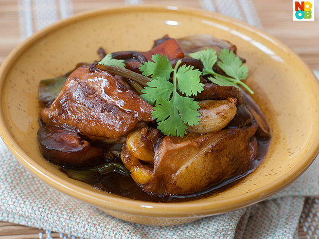 Chinese Braised Chicken Recipe