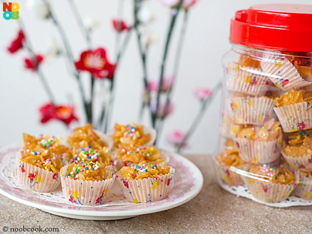 Honey Cornflakes Cups (Honey Joys)