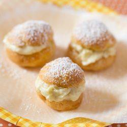Durian Cream Puff Recipe