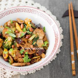 Mala Xiang Guo (Sichuan Spicy Numbing Stir-fry) Recipe