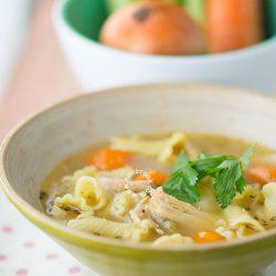 Slow Cooker Chicken Noodle Soup Recipe